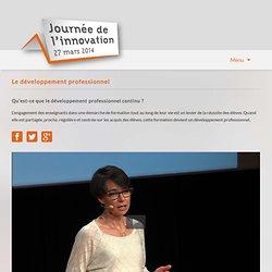 Journée de l'innovation 2014-Pour une approche renouvelée des sciences à l'école