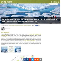 "World's leading sea ice expert warns the ""Arctic death spiral"" will make global warming even worse"