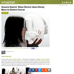 Susana Soares' Glass Device Uses Honey Bees to Detect Cancer
