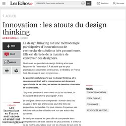 Innovation : les atouts du design thinking