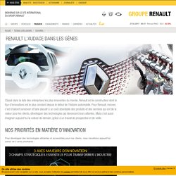 L'innovation automobile selon Renault