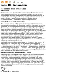 page 48 - Innovation - BeeVirtua - Orange - Rapport annuel 2009