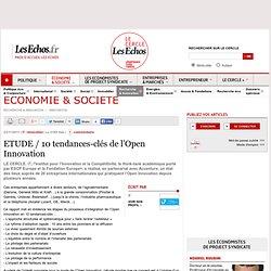 ETUDE / 10 tendances-clés de l'Open Innovation