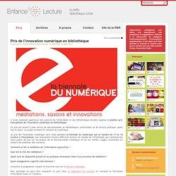 Prix de l'innovation numérique en bibliothèque