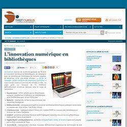 L'innovation numérique en bibliothèques