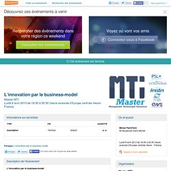 L'innovation par le business-model - Eventbrite