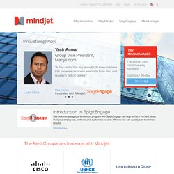Mindjet: The leading provider of collaborative work management solutions. Work Better, Together.