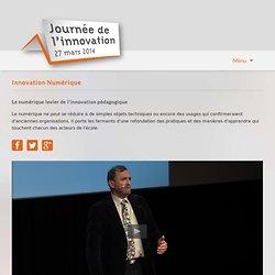 Journée de l'innovation 2014-Collège connecté, une dynamique forcément collective