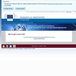 You name it! - Horizon 2020 - the Framework Programme for Research and Innovation - European Commission