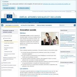 Innovation sociale - Emploi, affaires sociales et inclusion - Commission européenne