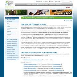 Droit, innovation, communication, culture
