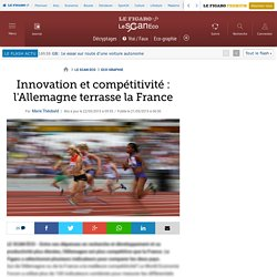 Innovation et compétitivité : l'Allemagne terrasse la France