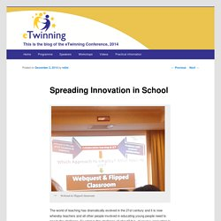Spreading Innovation in School