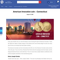 American Innovation coin – Connecticut