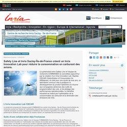 Création d'un Inria Innovation Lab pour réduire la consommation en carburant des avions.