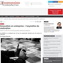 Innovation en entreprise : l'asymétrie de motivation