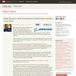 New Science And Innovation Curriculum Series Launches