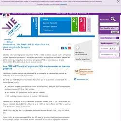 Innovation : les PME et ETI déposent de plus en plus de brevets. En bref - Actualités