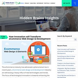 How Innovation will Transform eCommerce Web Design & Development