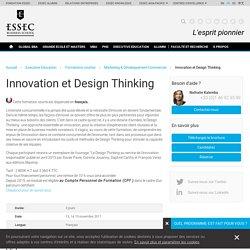 Innovation et Design Thinking - ESSEC Business School