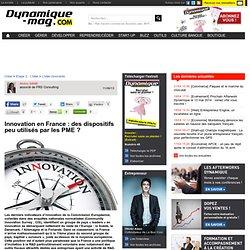 Innovation en France : des dispositifs peu utilisés par les PME ?
