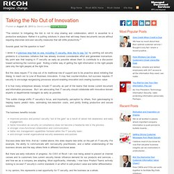 Taking the No Out of Innovation - Ricoh Managed Document Services