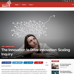 The Innovation to Drive Innovation
