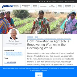 How Innovation in Agritech is Empowering Women in the Developing World