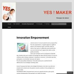 Innovation Empowerment