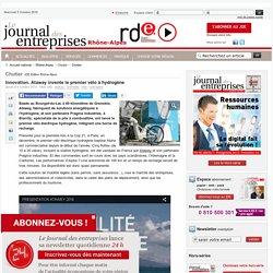 Innovation. Ataway invente le premier vélo à hydrogène - Chutier - Le Journal des entreprises
