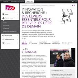 Innovation & recherche : des leviers essentiels pour relever les défis de demain