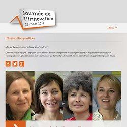 Journée de l'innovation 2014-Vers une évaluation positive