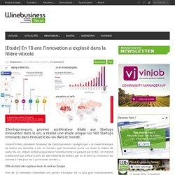 [Etude] L'innovation dans la filière viticole explose