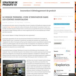 Le Design Thinking: Cure d'innovation dans les centres hospitaliers