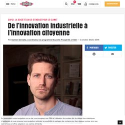 De l'innovation industrielle à l'innovation citoyenne