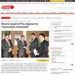 Éolane reçoit le Prix régional de l'innovation industrielle - Le Fresne-sur-Loire - Économie