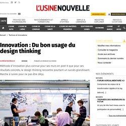 Innovation : Du bon usage du design thinking