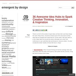 36 Awesome Idea Hubs to Spark Creative Thinking, Innovation, &am