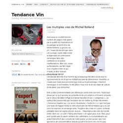 Tendance Vin — Branding, Innovation, Web Marketing, International