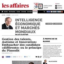 Gestion des talents, Autisme et Innovation: Embaucher des candidats «différents» ou le principe du Pissenlit