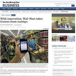 With innovation, Wal-Mart takes lessons from startups