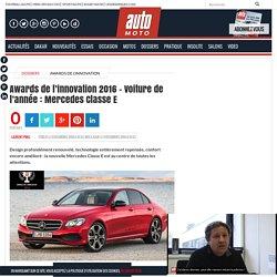 Awards de l'innovation 2016 – Voiture de l'année : Mercedes Classe E - Automoto, magazine auto et moto