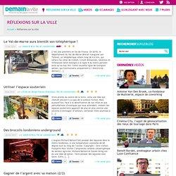 Ville du futur, innovation urbaine, métropolisation