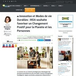 Innovation et modes de vie durables : la RSE chez IKEA