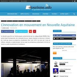 L'innovation en mouvement en Nouvelle Aquitaine
