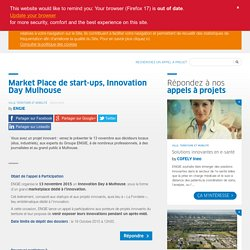 ​Market Place de start-ups, Innovation Day Mulhouse