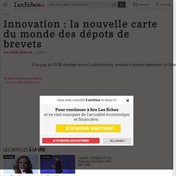 Innovation : la nouvelle carte du monde des dépots de brevets