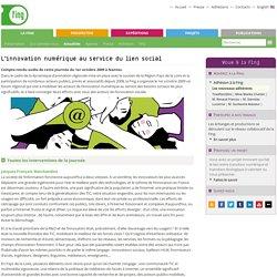 L'innovation numérique au service du lien social