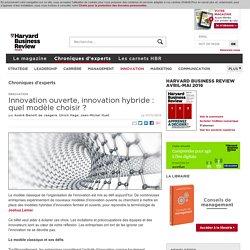 Innovation ouverte, innovation hybride : quel modèle choisir