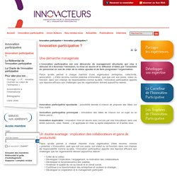 Innov'Acteurs » Innovation participative ?